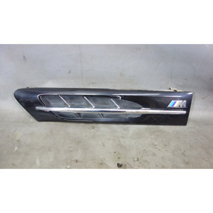 1998-2002 BMW Z3 M Roadster Coupe Left Driver Side Hood Cowl Grille Cosmos Black - 29915
