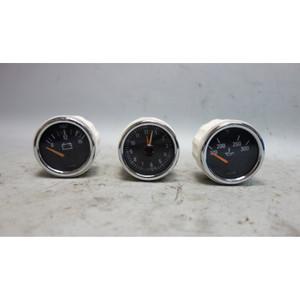 1998-2000 BMW Z3 M Roadster Coupe Center Console Gauge Set Clock Voltage Oil OEM - 29927