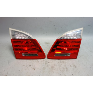 2008-2010 BMW E61 535xi Touring Wagon Rear Inner Tail Light Pair Left Right OEM - 29941