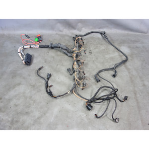 Damaged BMW E60 N54 Turbo 535i 535xi Fuel Injector Wiring Harness 2008-2010 OEM - 29965