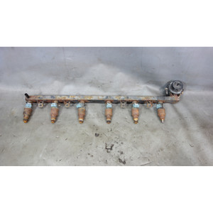 BMW E30 325i 325is 325ix Fuel Delivery Rail w Injectors Missing Tips 1987-1991 - 29977