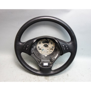 2006-2012 BMW E90 E91 3-Series 4dr Factory Standard Leather Steering Wheel Heat - 30003