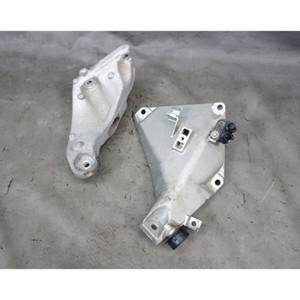 2009-2011 BMW E90 335d Diesel Sedan Engine Suspension Bracket Arm Pair OEM - 30014