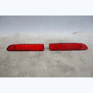 99-02 BMW Z3 Rear Bumper Custom Heavy Duty Side Marker Red Reflector Pair OEM - 30024