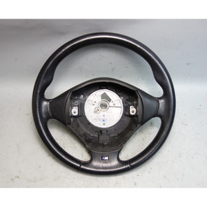 1999-2002 BMW Z3 Roadster Coupe Factory M Sports Leather Steering Wheel OEM - 30027