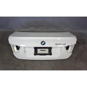 2009-2011 BMW E90 LCI Sedan Trunk Boot Deck Lid Alpine White 3 OEM - 30030