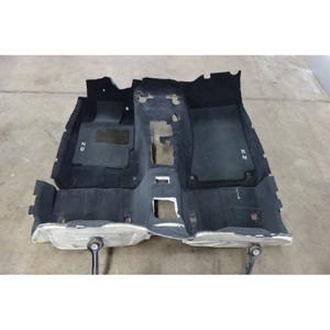 2000-2002 BMW Z3 Roadster Factory Floor Covering Carpet Set Black OEM - 30043