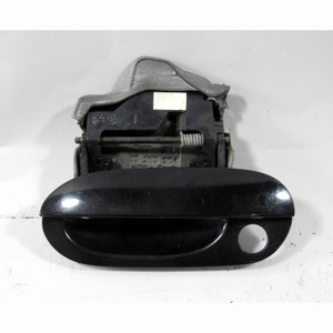 1999-2001 BMW E38 7-Series Left Front Exterior Outside Door Handle Black 2 OEM - 20471