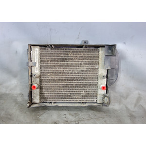 2008-2014 BMW E70 X5 E71 X6 Factory Auxiliary Left Front Fender Radiator OEM - 30185
