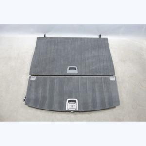 2005-2010 BMW E61 5-Series Touring Wagon Trunk Storage Floor Carpet Set Black OE - 30239