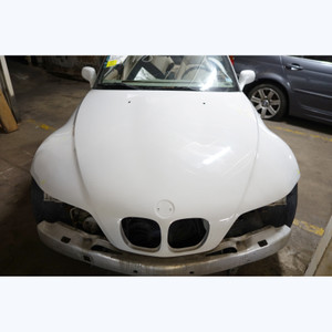 1996-2002 BMW Z3 Roadster Coupe Front Hood Bonnet Cover Panel Alpine White 3 OEM - 30251