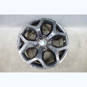 "Damaged 2007-2014 BMW E71 X6 Factory 20x11 Rear Style 214 Wheel 20"" Black OEM - 30295"