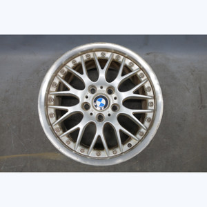 """Damaged 1996-2002 BMW E36 Z3 17"""" 17x8.5 Rear Style 42 BBS 2-Piece Wheel OEM - 30297"""