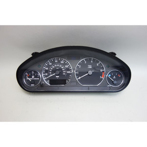 2001-2002 BMW Z3 Roadster Coupe M54 Instrument Gauge Cluster w Chrome OEM - 30310