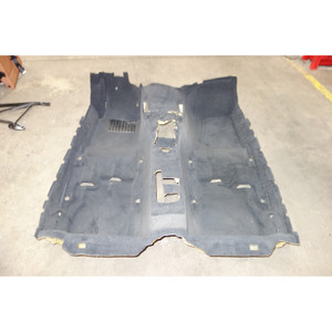 BMW E36 3-Series Convertible Factory Floor Covering Carpet Black Anthracite OEM - 30364