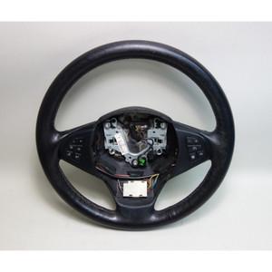 2007-2010 BMW E83 X3 SAV Factory Leather Steering Wheel w Heat Multifunction OEM - 30377