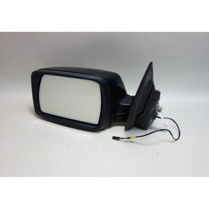 2004-2009 BMW E83 X3 SAV Left Outside Power-Fold Side Mirror Black 2 OEM - 30378