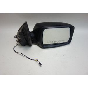Damaged 2004-2009 BMW E83 X3 SAV Right Outside Power-Fold Side Mirror Black 2 OE - 30379