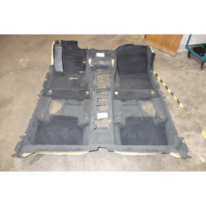 2006-2010 BMW E83 X3 SAV Interior Floor Covering Carpet Set Front Rear Black OEM - 30386