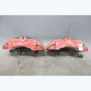"2003-2010 Porsche 955 957 Cayenne Front Brembo Brake Caliper Pair Right Left 18"" - 30403"