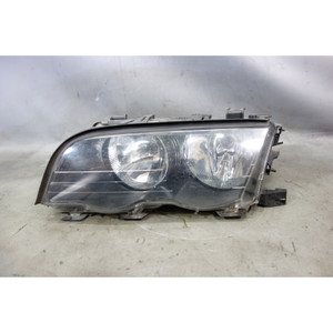Damaged 1999-2001 BMW E46 3-Series 4door Left Front Drivers Halogen Headlight OE - 30420