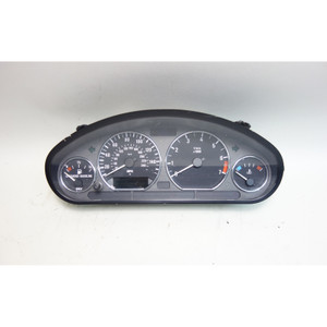 Damaged 1997-1998 BMW Z3 2.8 Roadster Instrument Gauge Cluster with Chrome Rings - 30461