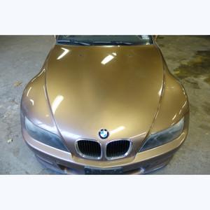 1996-2002 BMW Z3 Roadster Coupe Front Genuine Hood Panel Bonnet Impala Brown OEM - 30478