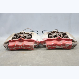 "2003-2010 Porsche 955 957 Cayenne Rear Brembo Brake Caliper Pair Right Left 17"" - 30489"
