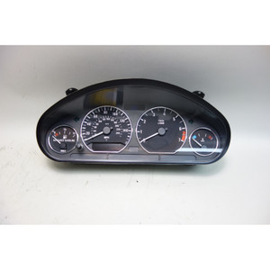 2001-2002 BMW Z3 Roadster Coupe M54 Instrument Gauge Cluster w Chrome OEM - 30502