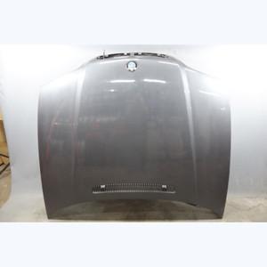 Damaged 1999-2001 BMW E46 3-Series 4door Early Engine Hood Panel Steel Grey OEM - 30513