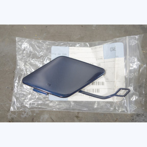 2013-2015 BMW F30 3-Series Rear Bumper Tow Hook Cover Trim Painted Blue New OEM - 30555