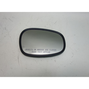 Damaged 2009-2013 BMW E90 3-Series E82 Right Outside Dimming Mirror Panel Pane - 30573