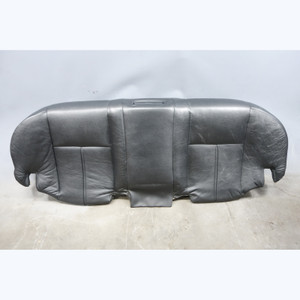 1996-2001 BMW E38 7-Series Factory Rear Seat Bottom Bench Black Leather OEM - 30578