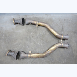 2008-2013 BMW E9x M3 V8 S65 Factory Front  Exhaust Pipe Section w/o Cats OEM - 30579