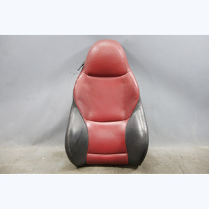 1999-2002 BMW Z3 Roadster Passengers Seat Cushion Backrest Dream Red Leather OEM - 30592