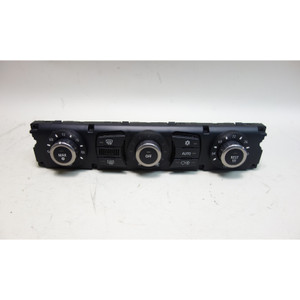 Damaged 2005 BMW E60 5-Series E63 Automatic Climate AC Control Interface Unit OE - 30615