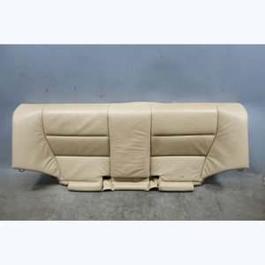 2000-2006 BMW E46 3-Series Coupe Rear Seat Bench Bottom Beige Leather Isofix OEM - 31078
