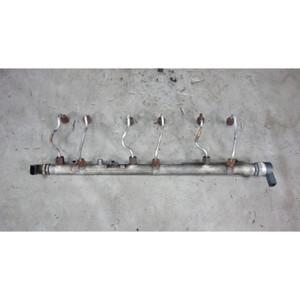 2009-2013 BMW E90 335d X5 M57 Diesel Fuel Pressure Accumulator Rail w Pipes OEM - 31094