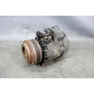 2009-2013 BMW E70 X5 SAV Diesel 35d Air Conditioning AC Compressor Pump 4-Rib - 31095
