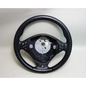 2000 BMW E39 M5 ///M Sports Leather Steering Wheel Multifunction Phone Radio OEM - 31132