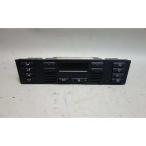 99-00 BMW E39 5-Series HVAC Climate Control Panel Display AC w Broken Buttons OE - 31134