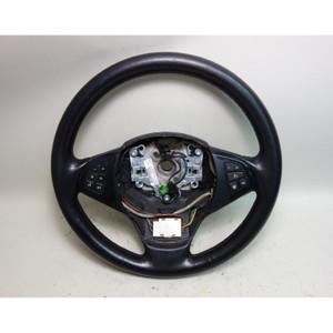 2007-2010 BMW E83 X3 SAV Late Model Leather Steering Wheel w Heat OEM - 31150