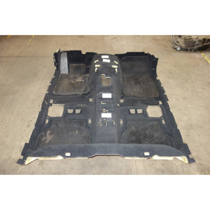 2004-2006 BMW E60 5-Series E61 Early Factory Floor Covering Carpet Set Black - 30630