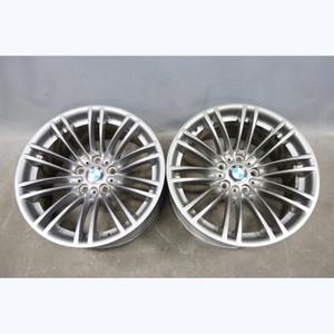 2008-2013 BMW E9x M3 Factory BBS Style 219 Double Spoke Front Wheel Pair 18x8.5 - 30663