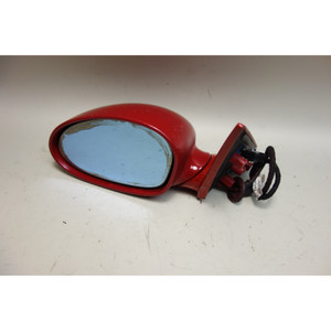 2001-2006 BMW E46 M3 M Left Driver Outside Side Mirror Imola Red 2 OEM - 30690