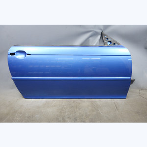 2000-2006 BMW E46 3-Series 2-door Right Passenger Door Body Shell Estoril Blue - 30730