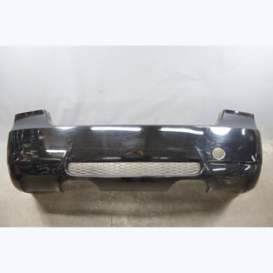 Damaged 2008-2011 BMW E90 M3 Sedan Factory Rear Bumper Cover Trim Black 2 OEM - 30732