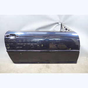 2000-2006 BMW E46 3-Series 2-door Right Passenger Outer Door Shell Carbon Black - 30795