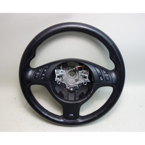 2001-2006 BMW E46 M3 E39 M5 Factory M Sports Leather Steering Wheel OEM - 30810