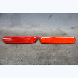 99-02 BMW Z3 Rear Bumper Side Marker Red Reflector Left Right Pair NLA OEM - 30833